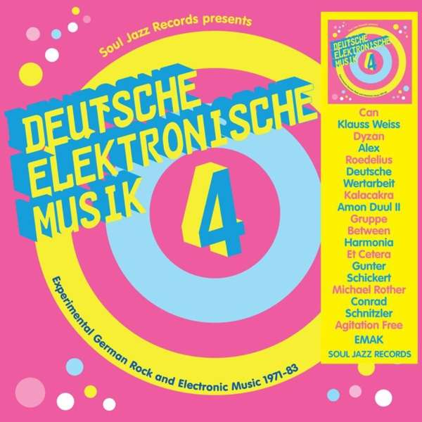 CD V/A - DEUTSCHE ELEKTRONISCHE MUSIK 4