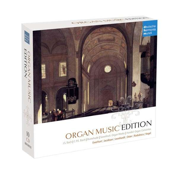 CD V/A - Organ Music Collection