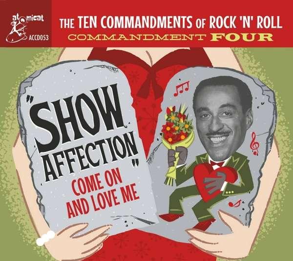 CD V/A - TEN COMMANDMENTS OF ROCK'N'ROLL VOL 4