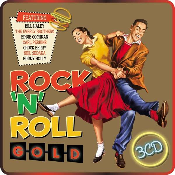 CD V/A - ROCK N ROLL GOLD