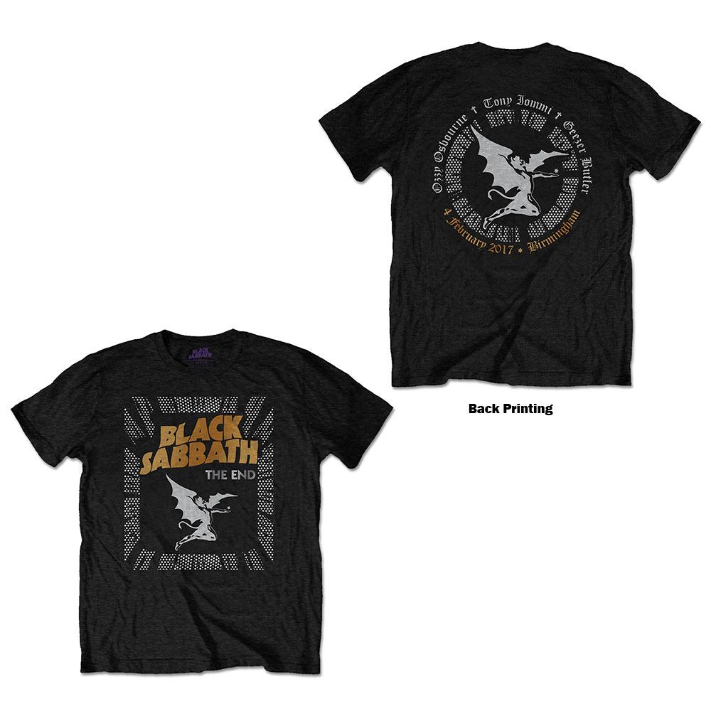 Black Sabbath - Tričko The End Demon - Muž, Unisex, Čierna, XL