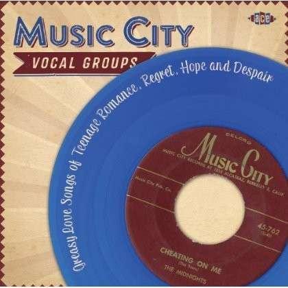 CD V/A - MUSIC CITY VOCAL GROUPS