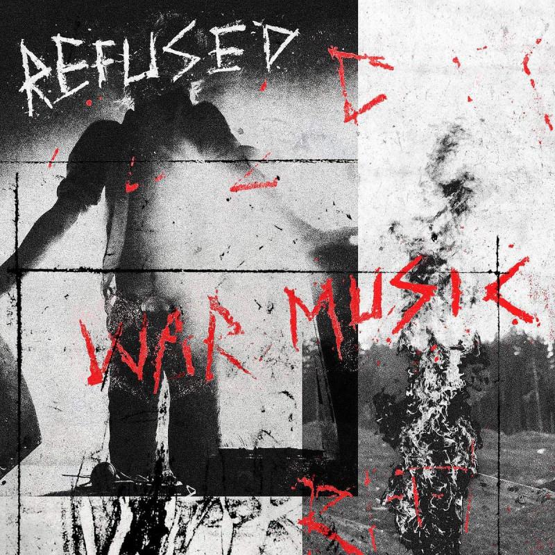 CD REFUSED - WAR MUSIC