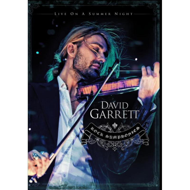 DVD GARRETT DAVID - ROCK SYMPHONIES-LIVE
