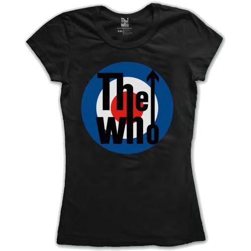 The Who - Tričko Target Classic - Žena, Čierna, S
