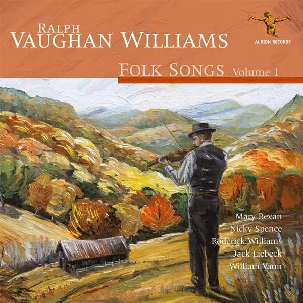 CD V/A - RALPH VAUGHAN WILLIAMS: FOLK SONGS VOLUME 1