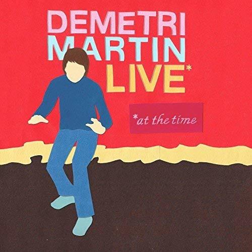 CD MARTIN, DEMETRI - LIVE (AT THE TIME)