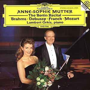 CD MUTTER/ORKIS - BERLINSKY RECITAL