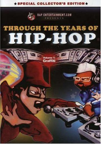 DVD V/A - THROUGH THE YEARS OF HIP HOP 1