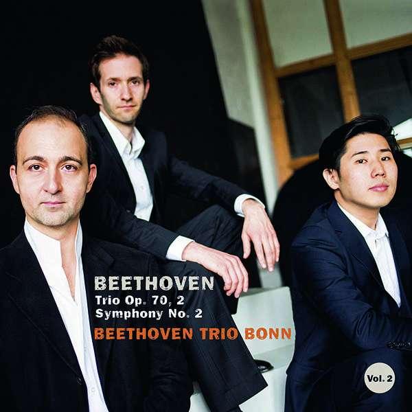 CD BEETHOVEN TRIO BONN - BEETHOVEN, PIANO TRIO OP.70 NO.2 & SYMPHONY NO.2