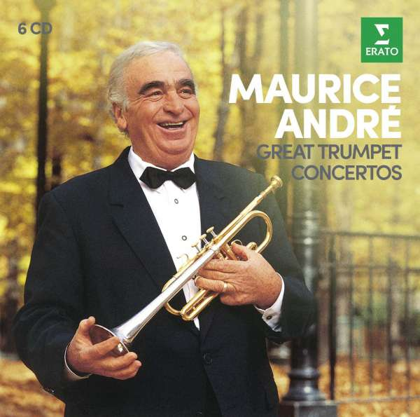 CD ANDRE, MAURICE - GREAT TRUMPET CONCERTOS
