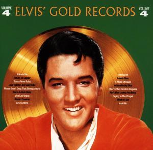 Elvis Presley - CD ELVIS GOLDEN RECORDS 4