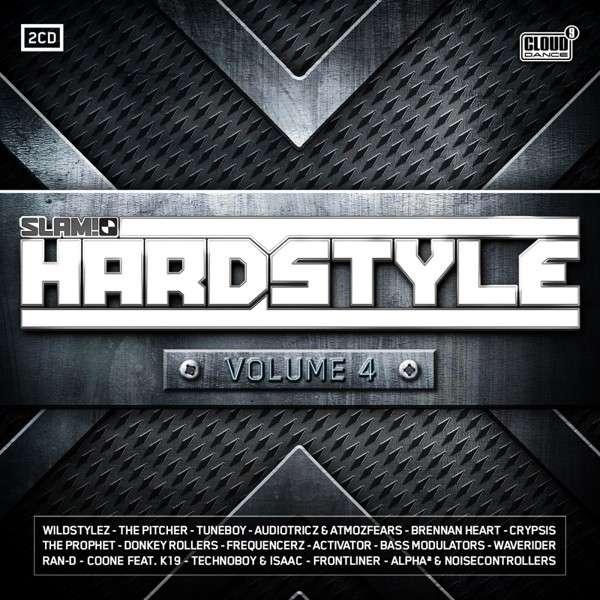 CD V/A - SLAM! HARDSTYLE 4