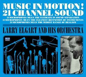 CD ELGART, LARRY & HIS ORCHE - MUSIC IN MOTION!/MORE MUSIC IN MOTION!