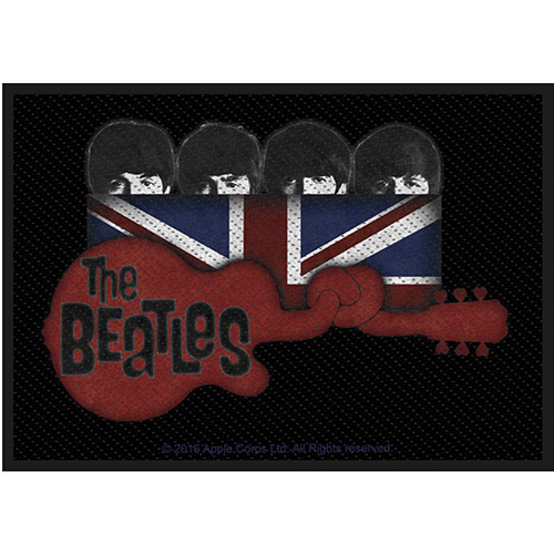 The Beatles - Nažehlovačka Guitar & Union Jack