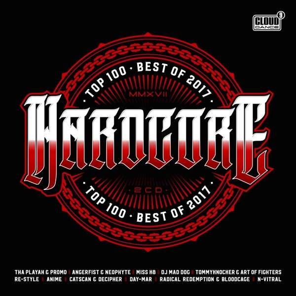 CD V/A - HARDCORE TOP 100 BEST OF 2017