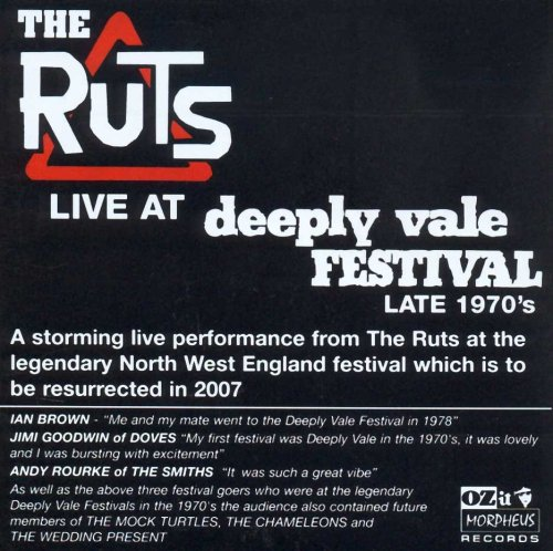 CD RUTS - LIVE AT DEEPLY VALE