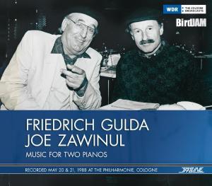 CD GULDA, FRIEDRICH & JOE ZA - GULDA & ZAWINUL-1988