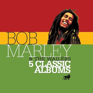 CD MARLEY BOB & THE WAILERS - 5 CLASSIC ALBUMS