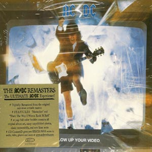 AC/DC - CD Blow Up Your Video