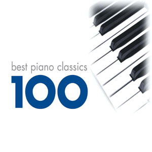CD VARIOUS ARTISTS - 100 BEST PIANO
