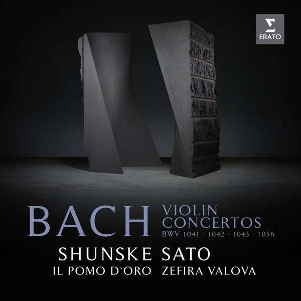 CD SATO/VALOVA/IL POMO D'ORO - BACH: VIOLIN CONCERTOS