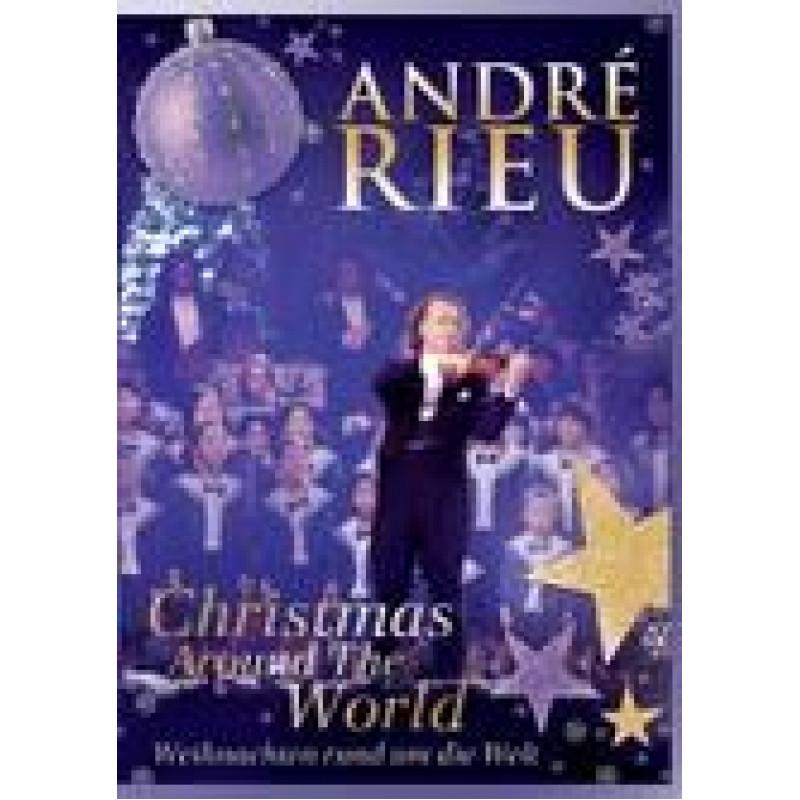 DVD RIEU ANDRE - WEINACHTEN RUND UM DIE...