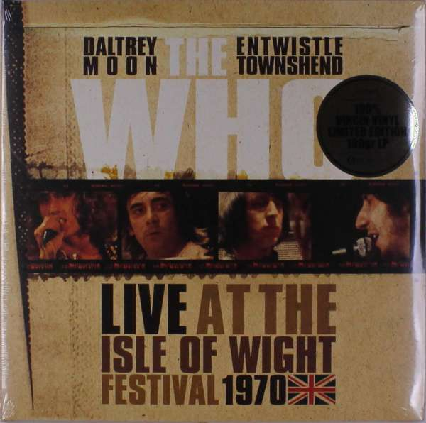 Vinyl WHO - LIVE AT THE ISLE OF WIGHT 1970