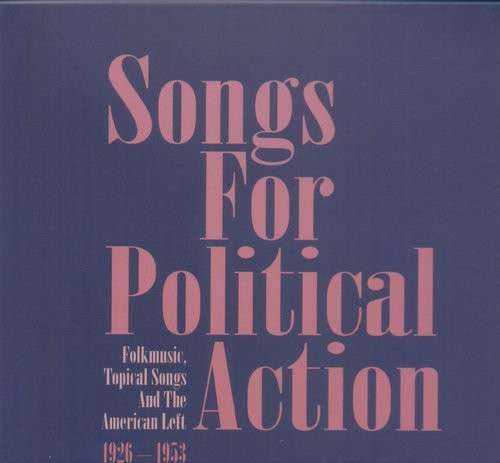 CD V/A - SONGS FOR POLITICAL ACTIO