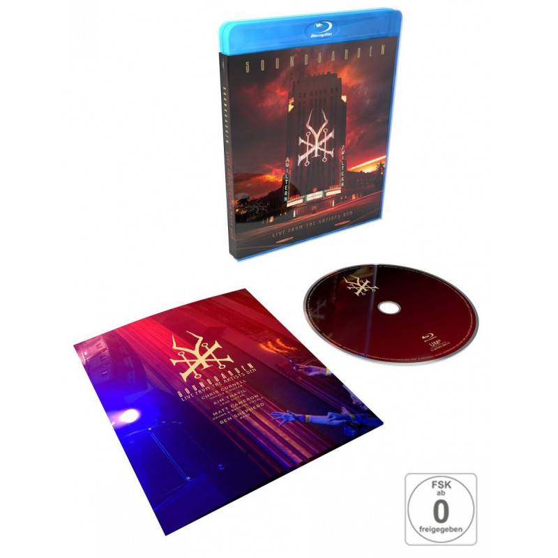 Soundgarden - Blu-ray LIVE AT THE ARTISTS DEN