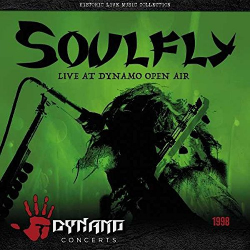 Soulfly - CD LIVE AT DYNAMO OPEN AIR