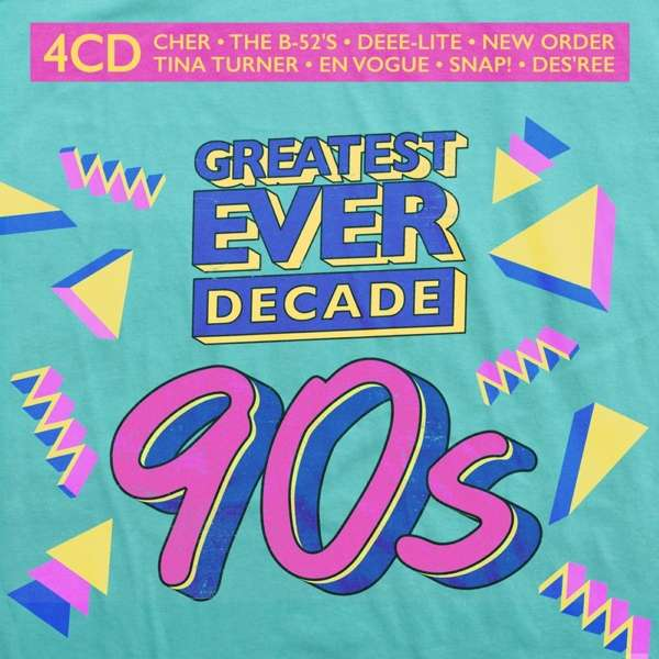 CD VARIOUS ARTISTS - GREATEST EVER DECADE: THE NINETIES