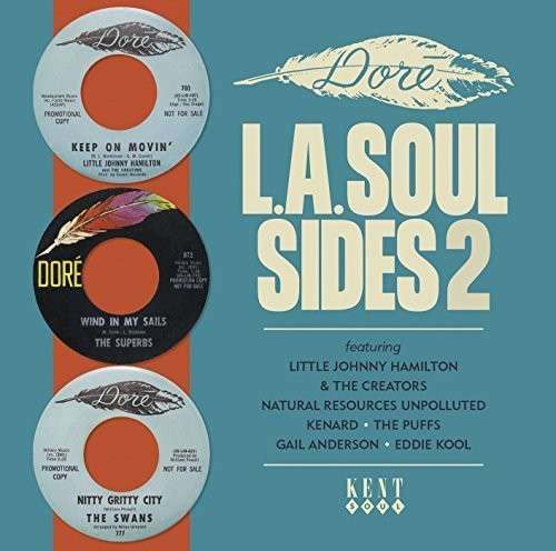CD V/A - DORE L.A. SOUL SIDES 2