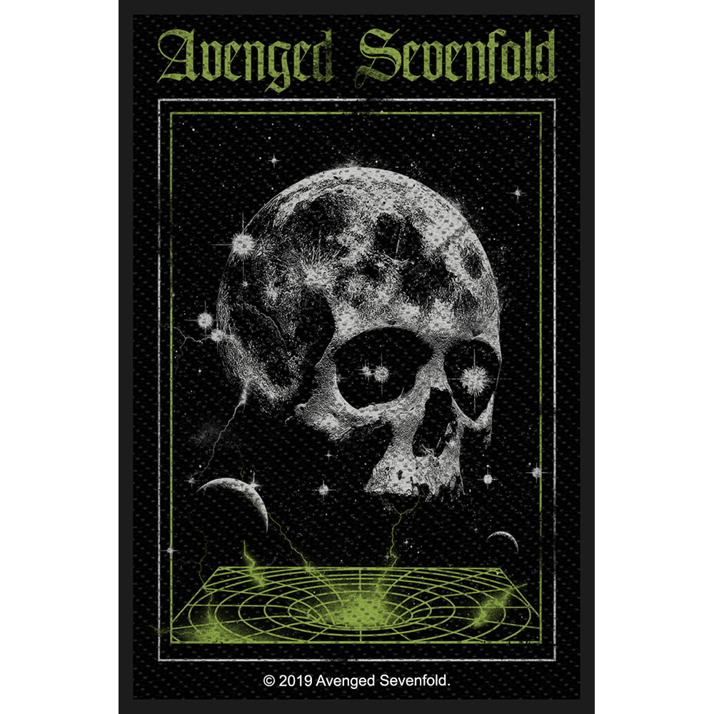 Avenged Sevenfold A7X - Nažehlovačka Vortex Skull