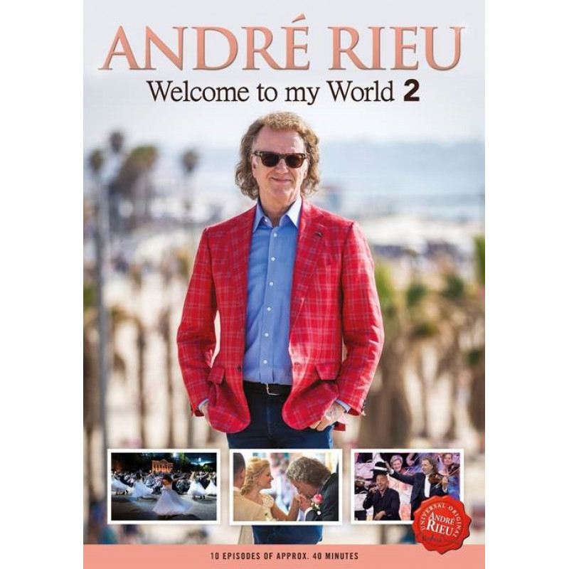 DVD RIEU ANDRE - WELCOME TO MY WORLD 2