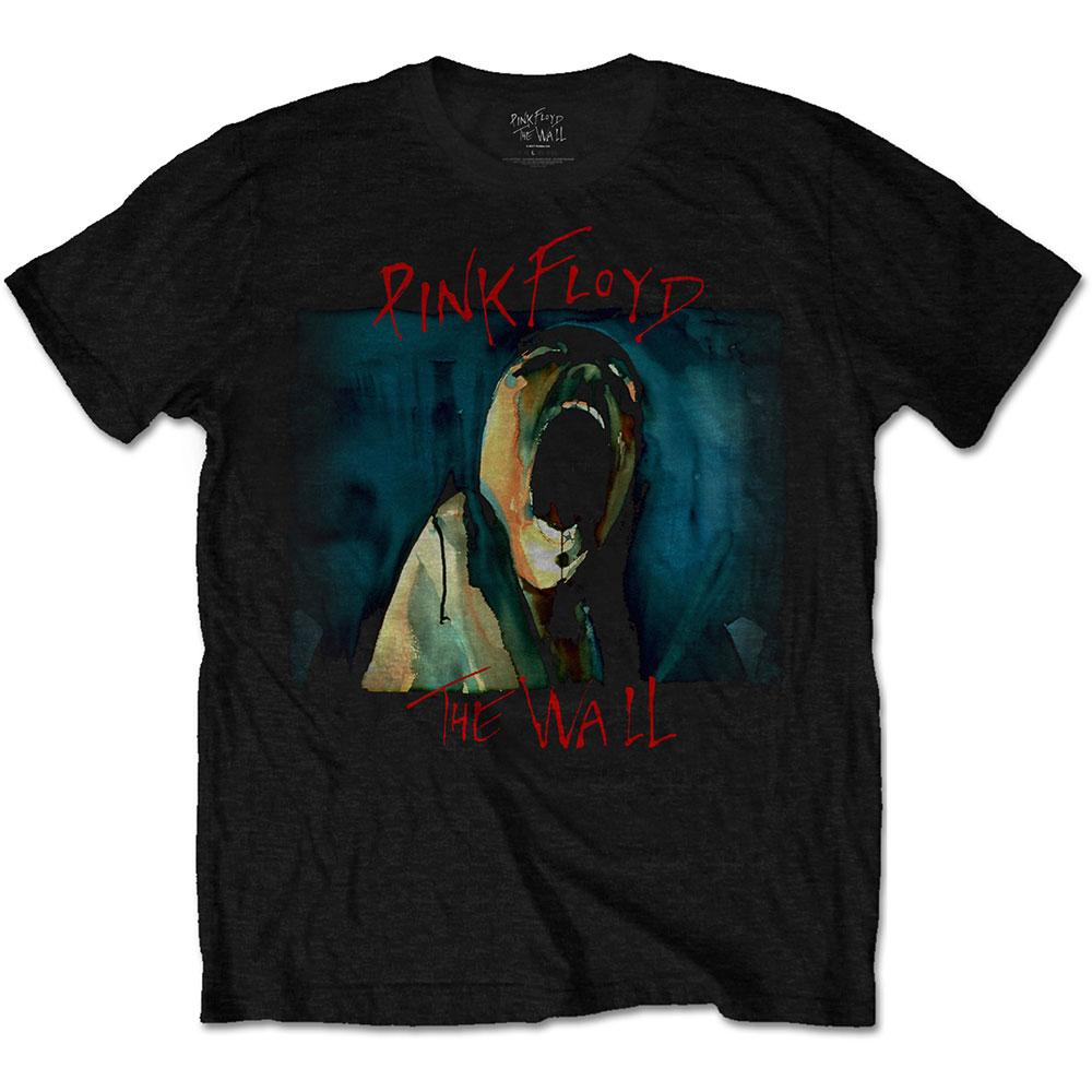 Pink Floyd - Tričko The Wall Scream - Muž, Unisex, Čierna, S