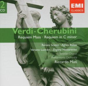 CD VERDI/CHERUBINI - REQUIEM MASS/REQUIEM IN C