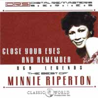CD RIPERTON, MINNIE - CLOSE YOUR EYES AND REMEMBER: THE BEST OF