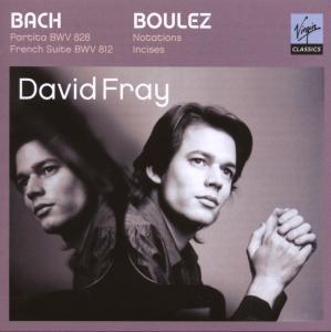 CD FRAY, DAVID - RECITAL BACH BOULEZ