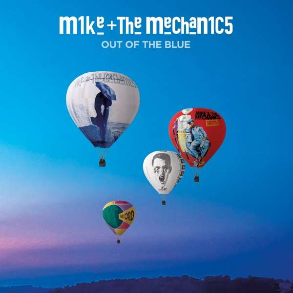 CD MIKE AND THE MECHANICS - OUT OF THE BLUE