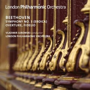 CD BEETHOVEN, L. VAN - SYMPHONY NO.3/OVERTURE/FIDELIO