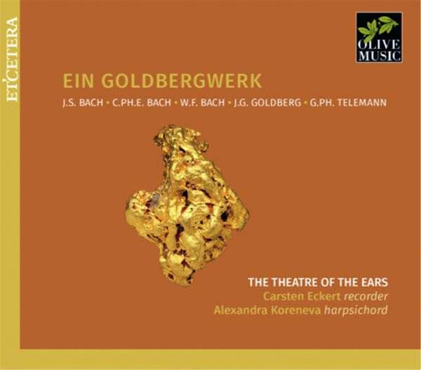 CD THEATRE OF THE EARS/CARST - EIN GOLDBERGWERK