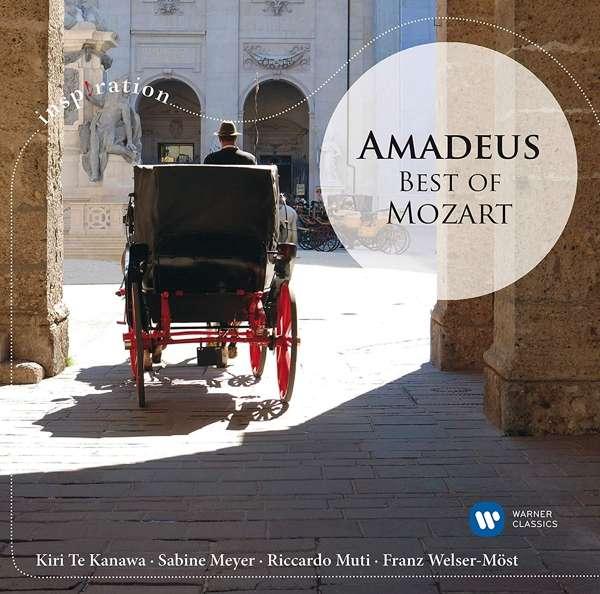 CD RAMPAL/KANAWA/MEYER/MUTI/WELSER-MOST - INSPIRATION: AMADEUS - BEST OF MOZART