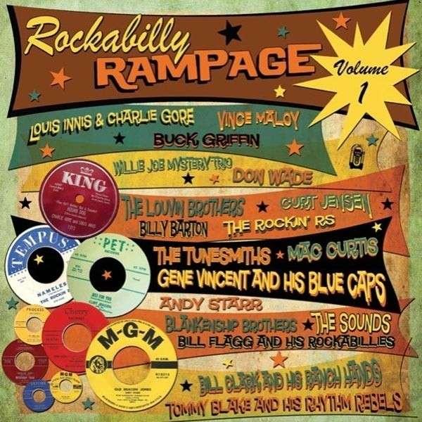 Vinyl V/A - ROCKABILLY RAMPAGE 1