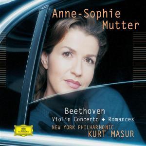 CD MUTTER/MASUR/NYPO - KONCERT PRO HOUSLE/ROMANCE