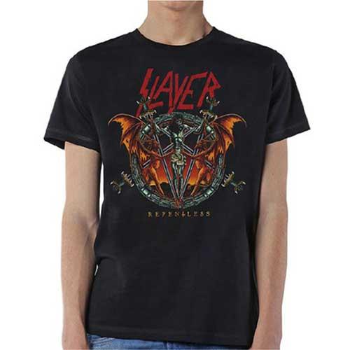 Slayer - Tričko Demon Christ Repentless - Muž, Unisex, Čierna, XL