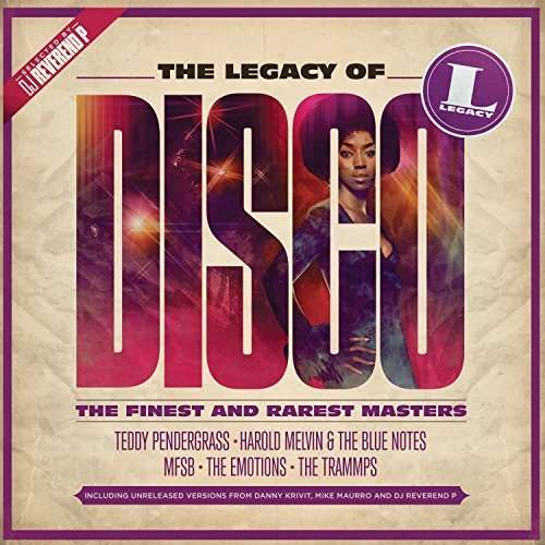 CD V/A - The Legacy of Disco