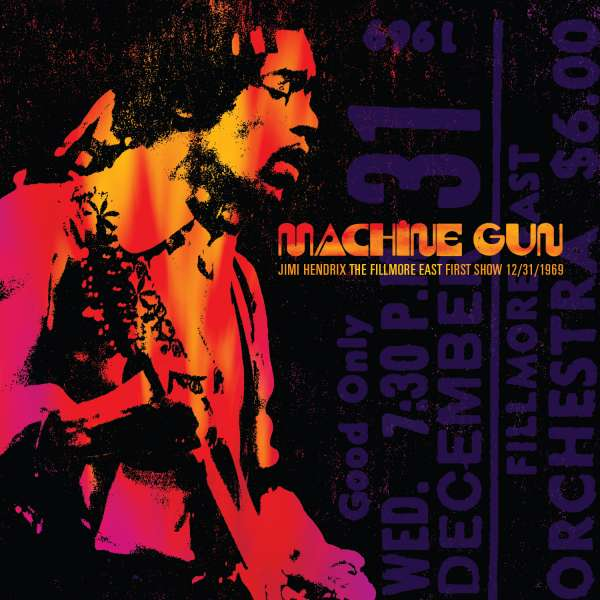 Jimi Hendrix - CD MACHINE GUN:THE FILLMORE EAST FIRST SHOW 12/31/69