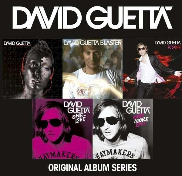 CD GUETTA, DAVID - ORIGINAL ALBUM SERIES
