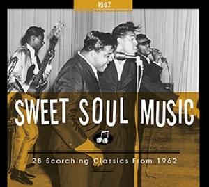 CD V/A - SWEET SOUL MUSIC 1962